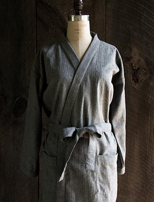 Women's Robe in Cozy Flannel | Purl Soho