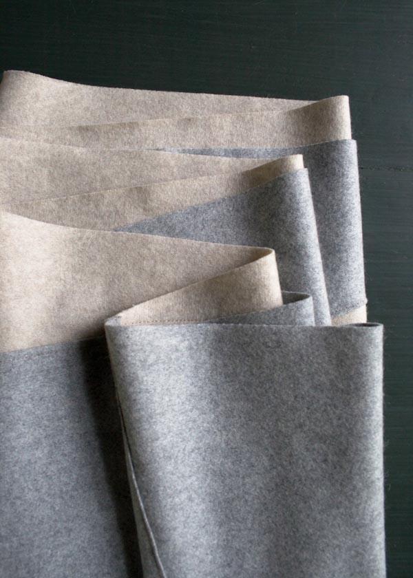 Bias Cut Wool Scarf