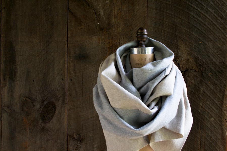 Bias Cut Wool Scarf | Purl Soho
