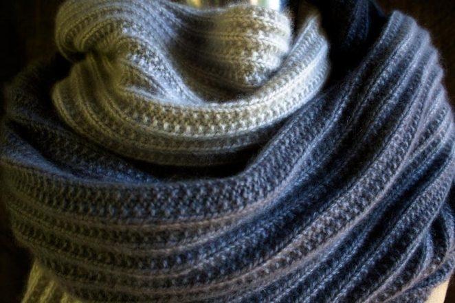Cashmere Ombré Wrap | Purl Soho