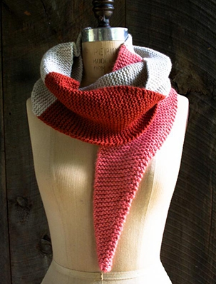 Color Tipped Scarf in New Colors + New Yarns | Purl Soho