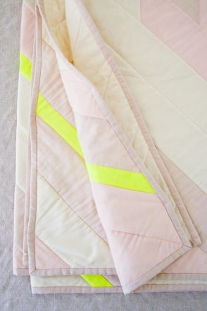 Diagonal Stripe Quilt | Purl Soho
