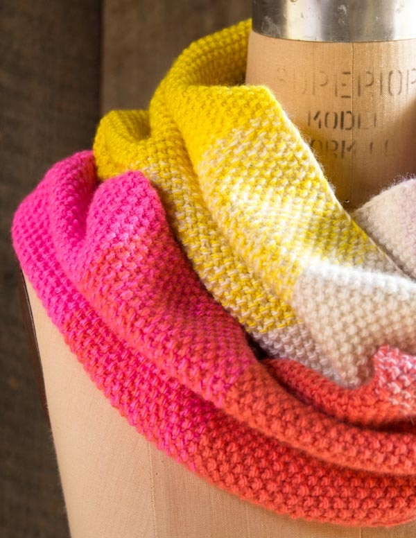 Gradient Cowl In Line Weight Purl Soho