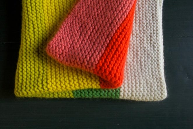 Super Easy Crib Blanket in Super Soft Merino's Newest Colors | Purl Soho