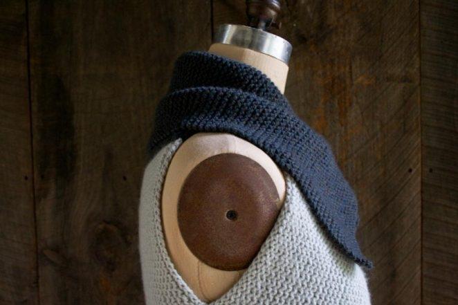 Sideways Garter Vest | Purl Soho