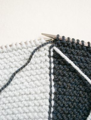 Intarsia in Garter Stitch | Purl Soho