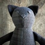 Wool Patchwork Cat