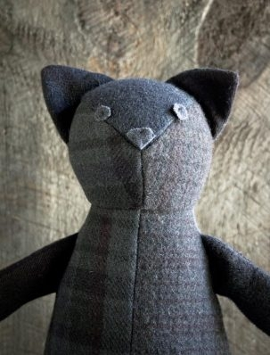 Wool Patchwork Cat | Purl Soho