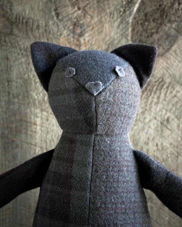 Wool Patchwork Cat