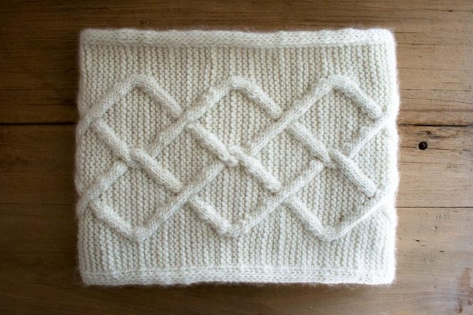 Cable Cloud Cowl | Purl Soho
