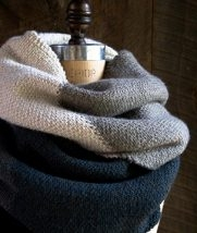 Linen Stitch Colorblock Wrap | Purl Soho