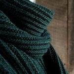 Mistake Rib Scarf in Mulberry Merino