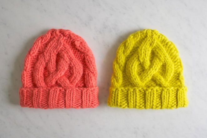 Traveling Cable Hat in Super Soft Merino, for Kids!   Purl Soho