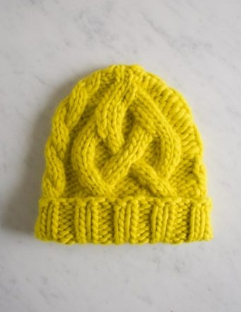 Traveling Cable Hat in Super Soft Merino, for Kids! | Purl Soho