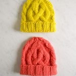 Traveling Cable Hat in Super Soft Merino, for Kids!
