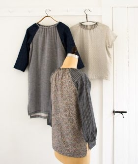 Sewn Raglan Shirt, Tunic + Dress