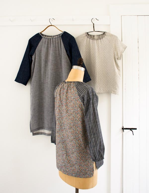 Sewn Raglan Shirt, Tunic + Dress | Purl Soho