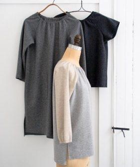 Sewn Raglan Shirt, Tunic + Dress in Lana Cotta Canberra