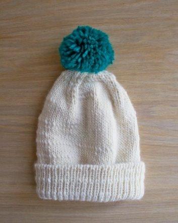 Classic Cuffed Hat in Merino Script | Purl Soho