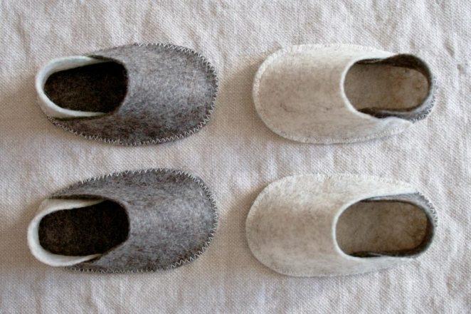 Felt Baby Slippers | Purl Soho