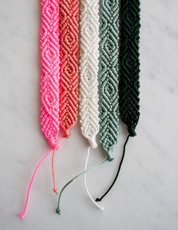 Monochrome Friendship Bracelets | Purl Soho