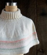 Northern Lights Capelet | Purl Soho