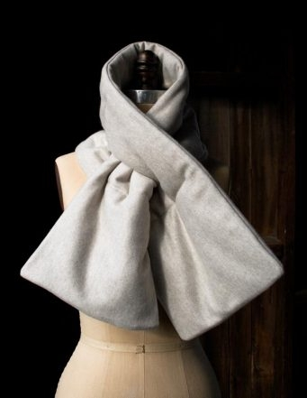 Quilted Keyhole Scarf | Purl Soho