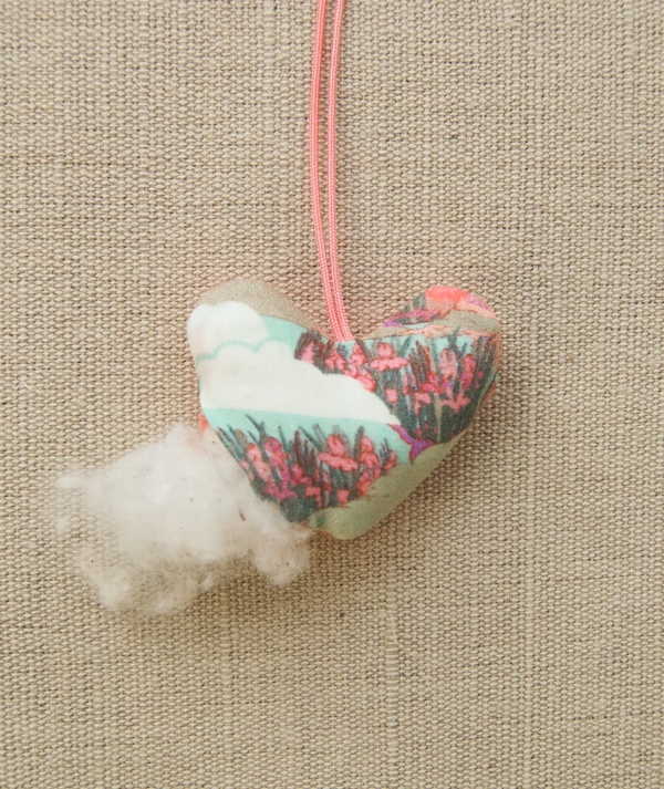 Valentine Necklaces in Liberty of London | Purl Soho