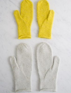 Arched Gusset Mittens | Purl Soho