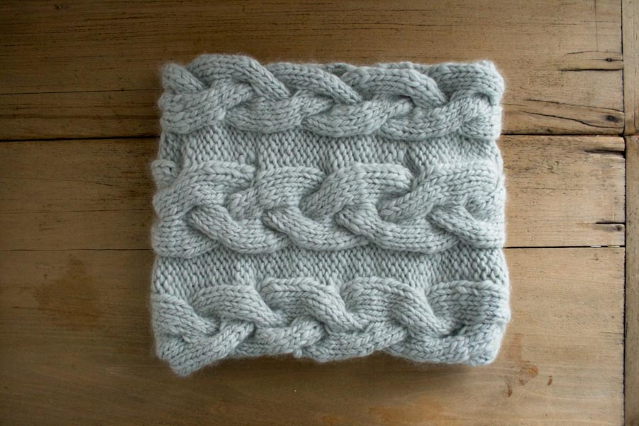 Free Knitting Pattern For Braided Cowl : Braided Cable Cowl Purl Soho