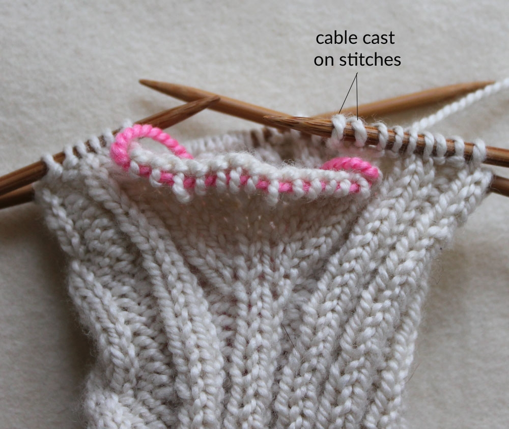 Traveling Cable Hand Warmers | Purl Soho