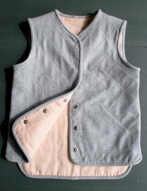 Quilted Wool Vest | Purl Soho