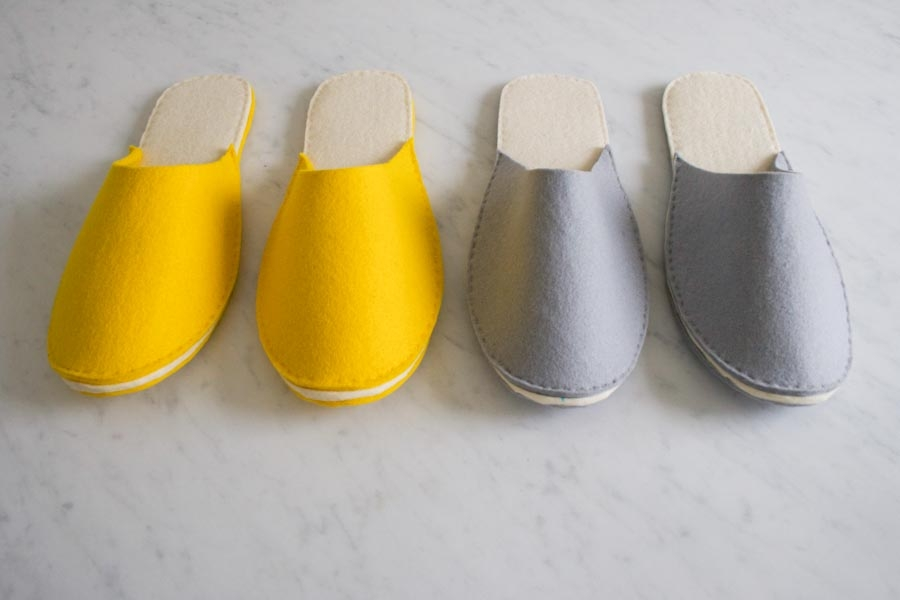 Stacked Felt Slippers | Purl Soho