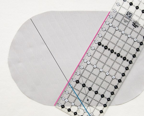 Marking Diamonds for Quilting | Purl Soho