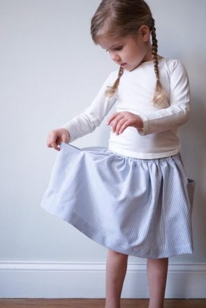 Gathered Skirt for All Ages | Purl Soho