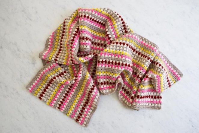 Granny Stripe Scarf | Purl Soho