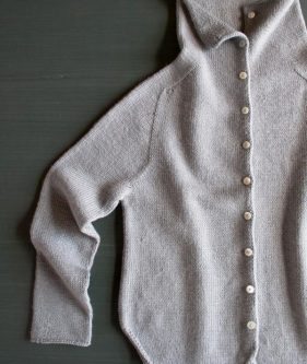 Top-Down Turtleneck Cardigan