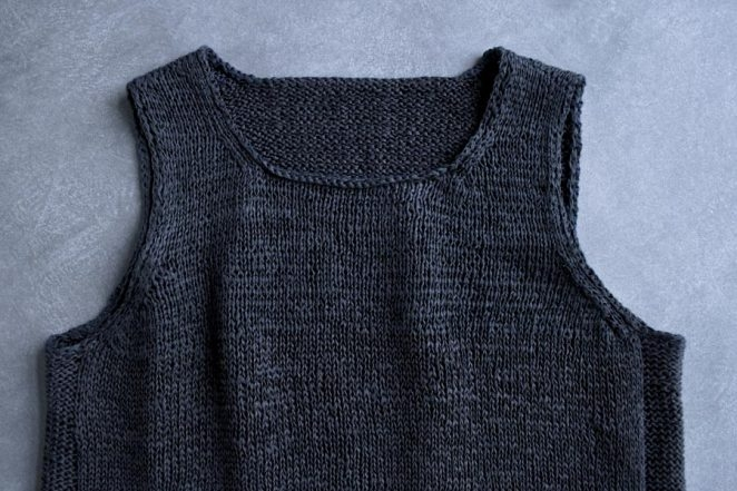 Notched Hem Tank Top | Purl Soho