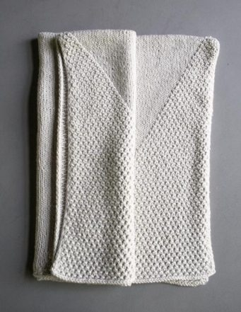 Cozy Corners Crib Blanket Purl Soho