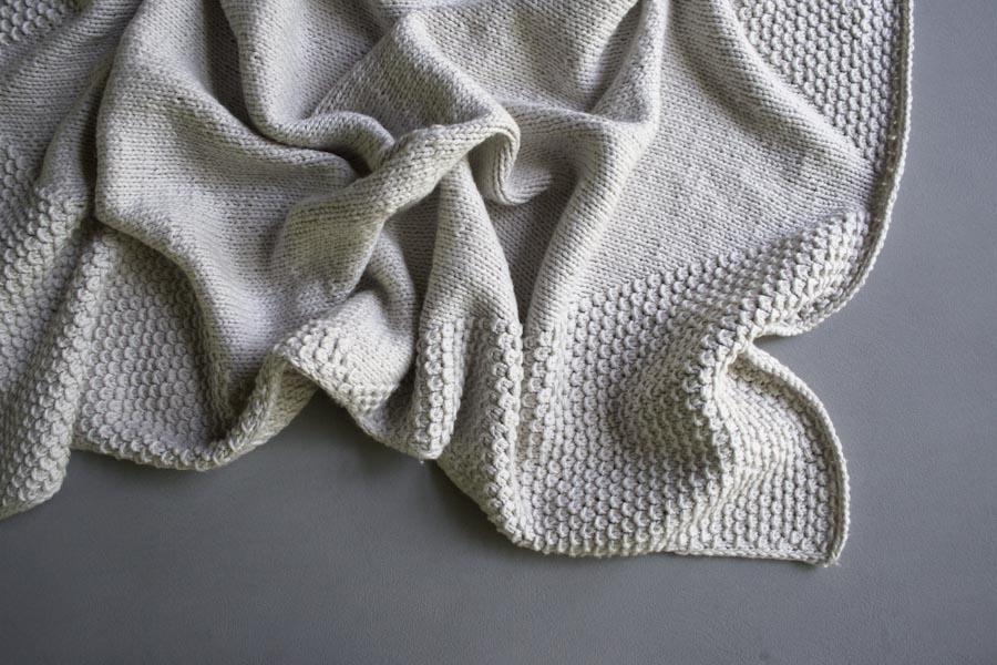 Cozy Corners Crib Blanket | Purl Soho