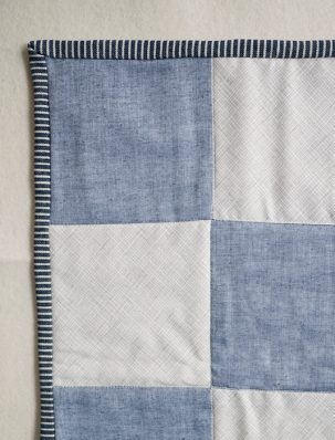 Sewing on Double Fold Binding | Purl Soho