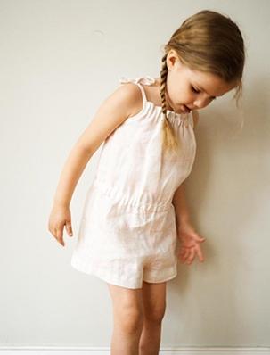 Summer Romper for Kids | Purl Soho