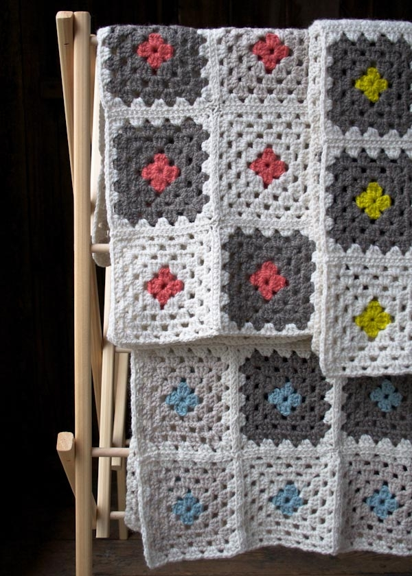 Learn To Crochet A Granny Square Blanket Kit Purl Soho