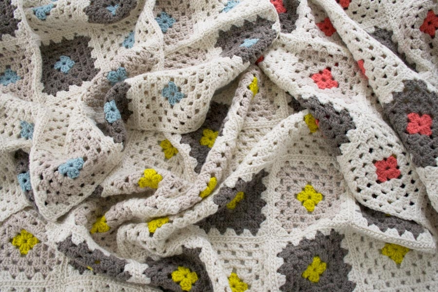 Learn to Crochet a Granny Square Blanket Kit | Purl Soho