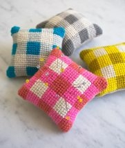 Learn to Needlepoint a Pincushion Kit | Purl Soho