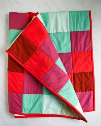Learn to Sew a Patchwork Quilt Kit | Purl Soho