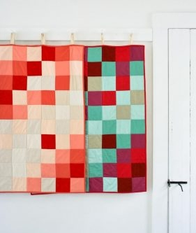 Learn to Sew a Patchwork Quilt Kit