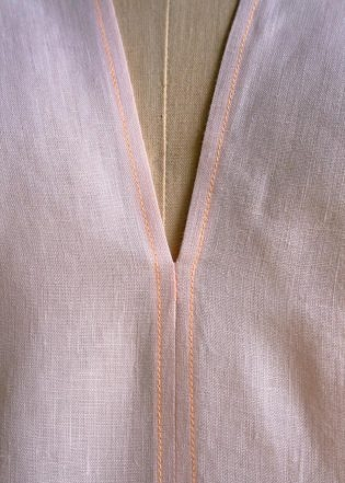 Tunic with Gathered Shoulders | Purl Soho