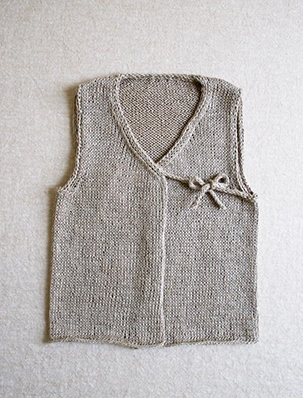 Linen Vest for Babies | Purl Soho