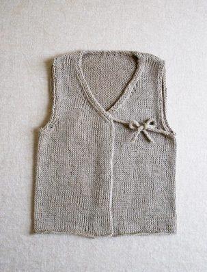 Linen Vest for Babies | Purl Soho